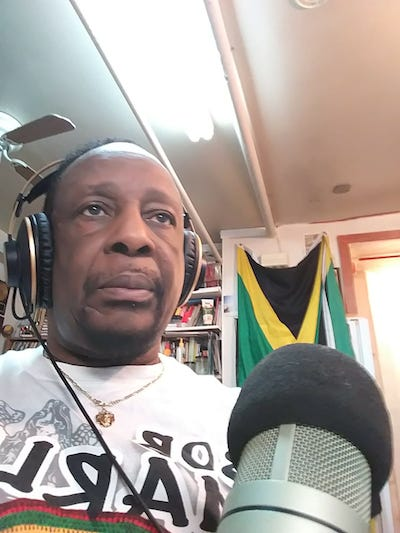 Clive 'Reggae Master Blaster' Hudson reaches 400,000 listeners monthly with 'Brooklyn Swing' radio broadcast