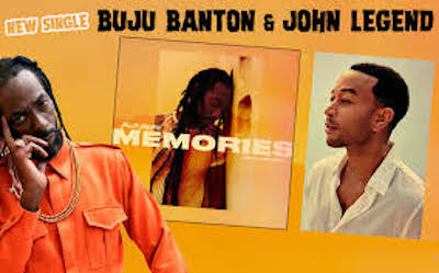 Buju Banton and John Legend find chart glory with 'Memories'