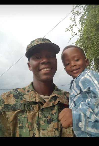 CHOP WOUNDS CLAIMED LIVES OF FEMALE JDF SOLDIER AND SON