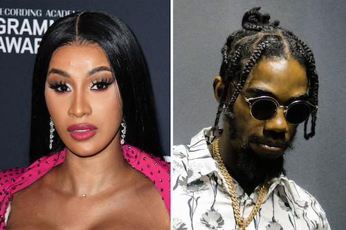 Cardi B and Offset vibe to Alkaline's 'Move Mountains'