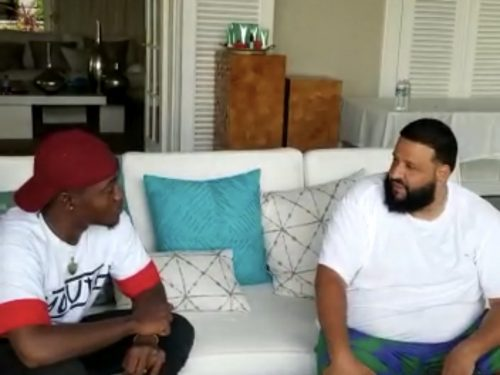 10Tik meets DJ Khaled at Jamaican hotel resort for high level meeting