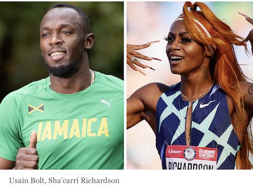 Bolt runs to Sha'Carri's defence