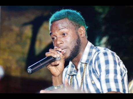 """Flyght a.k.a Bluugo burns a fire on Jah Cure; tells him to 'trim!"""""""
